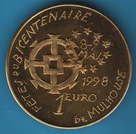 MULHOUSE 1 EURO 1998 BICENTENAIRE - EURO