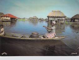 Afrique > BENIN GANVIE (pirogue)   (S.A.P.E.C  Photo Hazoume  M 07 ) *  PRIX FIXE - Benin