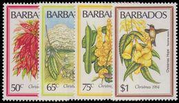 Barbados 1984 Christmas Flowers Unmounted Mint. - Barbados (1966-...)