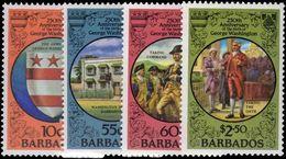 Barbados 1982 George Washington Unmounted Mint. - Barbados (1966-...)