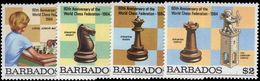 Barbados 1984 Chess Unmounted Mint. - Barbados (1966-...)