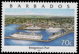 Barbados 2000 70c Bridgetown Type II Unmounted Mint. - Barbados (1966-...)