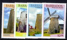 Barbados 2015 Windmills Unmounted Mint. - Barbados (1966-...)
