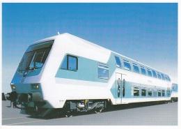 StadtExpress,Werbekarte DB,ungelaufen - Trains