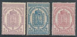 BZ-151: FRANCE: Lot Avec Journaux N°7/8/9* (plis Et 2ème Choix De Gomme, 1 Signé) - Journaux