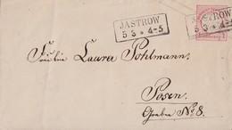 DR GS-Umschlag 1 Gr. R2 Jastrow 5.3. Gel. Nach Posen - Briefe U. Dokumente