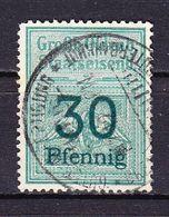Grossh Oldenb Staatseisenb, 30 Pfennig (50109) - Gebührenstempel, Impoststempel