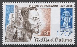 Wallis And Futuna 492** PIERRE DE RONSARD, POET - Ungebraucht
