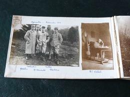 SUPERBE  !!  TRES GROS LOT DE 208 PHOTOS DANS UN ALBUM  DE LA GUERRE DE 1914 A 1916 - 1914-18