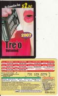 CANADA - Girl On Phone, MCI Prepaid Card $2.50(416-848-6996, Yellow Reverse), Used - Canada