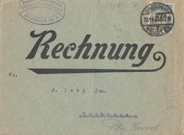 DR Brief EF Minr.329A Dresden 28.11.23 Novemberbrief - Deutschland