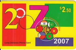 CANADA - Link 2007, MCI Prepaid Card $2.50(416-848-6887, White Reverse), Used - Canada