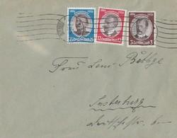 DR Brief Mif Minr.540,542,543 Insterburg 30.6.34 FDC - Briefe U. Dokumente