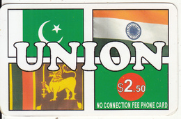 CANADA - Union, MCI Prepaid Card $2.50(416-848-6996, White Reverse), Used - Canada