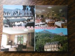 D 65 - Lourdes - Aspin En Lavedan - Hôtel Restaurant Le Montaigu - Lourdes