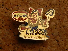 Pin's - ANCEL - SPECIALITE D'ALSACE - Food