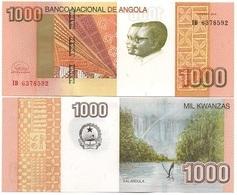 Angola - 1000 Kwanzas 2012 / 2017 UNC Ukr-OP - Angola