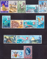 TURKS AND CAICOS ISLANDS 1971 SG #333-46 Compl.set Used - Turks And Caicos