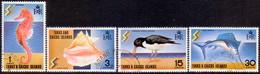 TURKS AND CAICOS ISLANDS 1971 SG #347-50 Compl.set Used Tourist Development - Turks And Caicos