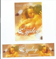 """MARQUE PAGES + FLYER ( DUO) Osez La Romance """" ÉDITIONS CYPLOG - Marque-Pages"""
