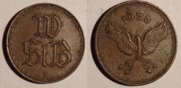 TOKEN JETON GETTONE TRANSIT AUSTRIA 1938 RUOTA ALATA - Notgeld