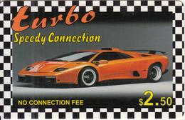 CANADA - Car, Turbo, MCI Prepaid Card $2.50(416-848-6996, White Reverse), Used - Canada