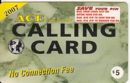 CANADA - ILC, MCI Prepaid Card $5(416-848-6398, Yellow Reverse), Used - Canada
