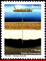Ref. BR-3209 BRAZIL 2012 SHIPS, BOATS, PRE-SALT OF LULA, OIL,, MNH 1V Sc# 3209 - Brazil