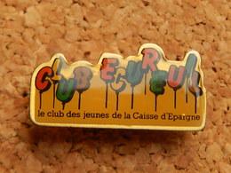 Pin's -  CAISSE D' EPARGNE - CLUB ECUREUIL - Banks