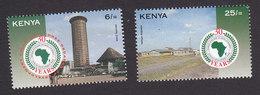 Kenya, Scott #626-627, Mint Hinged, African Development Bank, Issued 1994 - Kenya (1963-...)