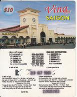 CANADA - Saigon, Vina Prepaid Card $10, Used - Canada