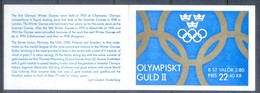 G359- Sweden Booklet 1992. Swedish Olympic Gold Medal Winners. - Unused Stamps