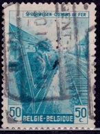 Belgium 1945, Railway, Engineer, 50c, Sc#Q271, Used - 1942-1951