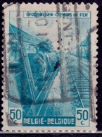 Belgium 1945, Railway, Engineer, 50c, Sc#Q271, Used - Railway