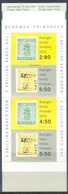 G361- Sweden Booklet 1992 Famous Stamps. - Unused Stamps