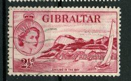 Gibralter 1953 2 1/2p  Sailing  Issue #136 - Gibraltar