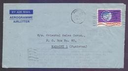 SINGAPORE Postal History - Aerogramme Used 23.7.1980 With Telephone Stamp - Singapore (1959-...)