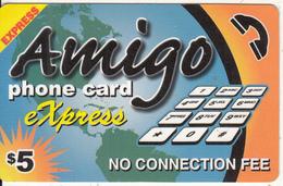 CANADA - Express, Amigo Prepaid Card $5, Used - Canada