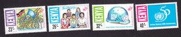 Kenya, Scott #651-654, Mint Hinged, UN, Issued 1995 - Kenya (1963-...)