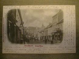 Cpa Grammont Geraardsbergen - Grand' Rue - Edit. Broekaert Vanden Bossche - 1902 - Geraardsbergen
