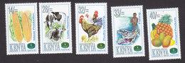 Kenya, Scott #660-664, Mint Hinged, FAO, Issued 1995 - Kenya (1963-...)