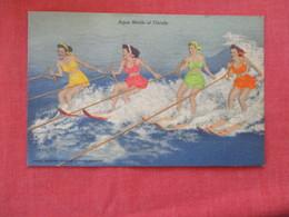 Aqua Maids Water Skiing Cypress Gardens      Ref 2931 - United States