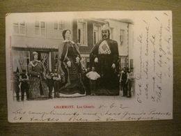 Cpa Grammont Geraardsbergen - Les Géants - 1902 - Edit. Broekaert Vandenbossche - Geraardsbergen