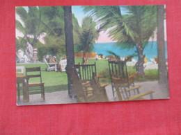 Hand Colored -- Hillsboro Club Pavilion  Pompano  Florida      Ref 2931 - United States