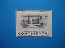 (1912) PNEUS CONTINENTAL (Camion-Atelier Matériel Aéronautique H. Crochat) - Non Classés