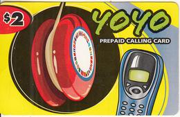 CANADA - Yoyo Prepaid Card $2, 11/04, Used - Canada