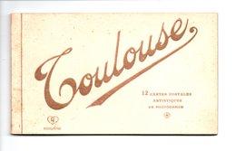 31 - TOULOUSE . CARNET DE 9 VUES - Réf. N°9477 - - Toulouse