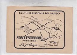 LA MEJOR PISCOMIA DEL MUNDO. SANTESTEBAN. HOSTERIA LA JOSHEPA SPAIN.-TBE-BLEUP - Hotel's & Restaurants