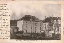 Cpa 45 MEUNG-SUR-LOIRE  Le Moulin De La Fontaine , Précurseur , 1903 - France