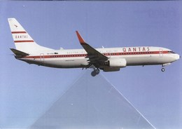 Qantas Airlines Australia B737 VH-VXQ At Beijiing PEK - 1946-....: Moderne